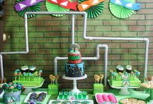 Party: {ninja turtles} / Craft DIYs and inspiration for all things related to a  Ninja Turtles party theme!