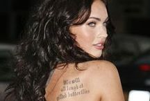 Best Ever Celebrity Tattoos