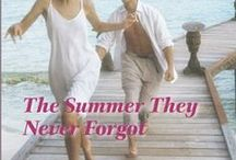 Sandy and Ben / Inspiration for characters and settings in Kandy Shepherd's Harlequin Romance novel THE SUMMER THEY NEVER FORGOT published in February 2014
