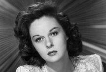 Susan Hayward 1917-1975 Aged 57 / Brain Cancer / by Kay B.