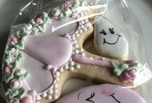 Baby Shower - Girl / Cookies that were custom made for baby showers