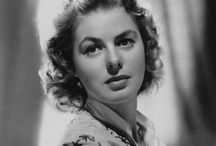 Ingrid Bergman 1915-1982 Aged 67 / Lymphoma Complications Following Breast Cancer Surgery / by Kay B.
