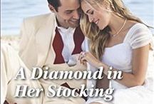 Lizzie and Jesse (A Diamond in Her Stocking) / Inspiration for my third novel for Harlequin, A DIAMOND IN HER STOCKING by Kandy Shepherd, published December 2014.