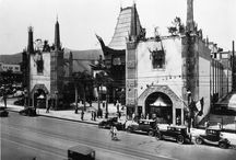 Grauman's Chinese Theater 1927-1973 / Renamed Mann's Chinese Theatre in 1973 / by Kay Bannon