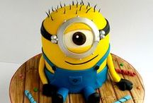 Birthday Party : for 3 years of my son, theme minions
