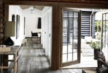 SPACES + PLACES / Inspirational places with clean and modern designs, rustic elegance and reclaimed pieces.