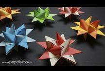 origami e varie carta