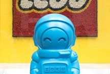 Astronaut Adventure / Our adventurous Astronaut from the Zoku Space Pop Molds has traveled back from space and landed in New York City! Check out his NYC travels, as well as tips and recipes with the Space Pop Molds.
