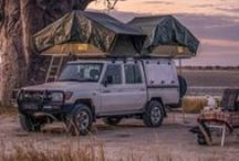 4x4 vehicles to take you places / Bushtrackers 4x4 or safari campers will take you on an adventure of a lifetime.  Go to the places of your dreams. Visit bushtrackers.co.za for Southern Africa dream holidays.