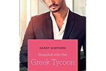 Cristos and Hayley (Stranded With Her Greek Tycoon, Harlequin Romance, February 2018 / Inspiration for romance novel, Stranded With Her Greek Tycoon, published by Harlequin Romance in February 2018