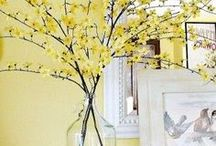 SPRING DECOR | Inspiration / Inspiration to help welcome spring time into your home!