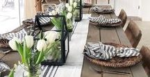 Dining Room Designs / Inspiration on decorating your dining room