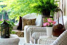 ❥ Porch and Patio