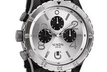 Nixon Time Pieces / The Nixon collection stands by itself among the top watch brands.