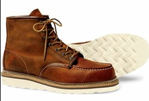 Red Wing Shoes / American-made boots manufactured out of Minnesota in the city that carries it's namesake.