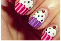 Gezellige nagels / Regenboognagels