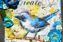 canvas art using 3rd Eye products / canvas art using 3rd Eye products <3 http://3rdEyeCraft.com