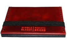 Middle Classy Leather Goods / Hand-made leather goods made in the United States of California.
