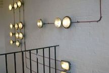 . let there be light .  / . light fixtures .  / by Felicia Scott