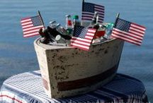 Nautical Lake Themed Independence Day! / Get ready for celebrating a nautical themed 4th of July!  / by Houseboat Magazine