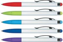 Stylus pens - for touch screens / Branded promotional pens with a built in stylus for use with touch screens