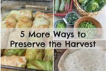Preserve It! / Make your garden-fresh fruits and veggies last with these canning and preserving tips and techniques.