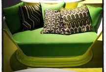 Green Tea / Design inspiration in shades of green.