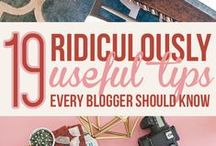 B l o g - Tips & Tricks / Blogging Tips & Tricks