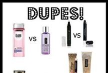 D u p e s / Affordable Dupes of High End Beauty Products! #dupes