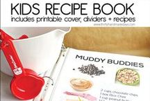 Cooking with Kids / Ideas to help me teach my children to prepare food