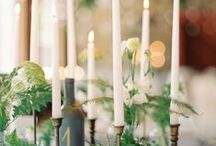 Taper ideas / Be creative with dinner candles
