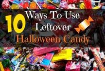 Leftover Halloween Candy / Fun and creative things to do with candy