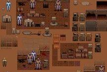 Indie Gamedev Pixelart / My pixelart