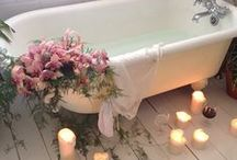 Rejuvination / Pampering.  Boutique bathrooms.  Fluffy towels.  Candle lit bathing.