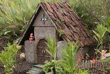 F a i r y . G a r d e n / Building an adorable miniature garden for the fairies.