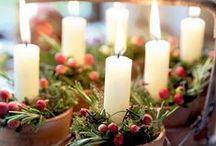 ❥ Natural Christmas / Rustic & Natural Christmas