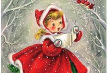 ❥ Vintage Christmas / Vintage Christmas Graphics, Illustrations & Photos