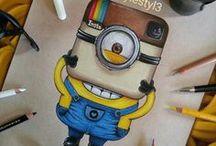 ☆ Art ☆ / Si vous éte une fan de dessin vous trouverez peut être de l'inspiration ...
