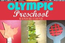 Olympics Preschool Theme / Olympics activities, games, snacks and crafts
