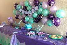 ❥ Mermaid Party / Mermaid Party Ideas