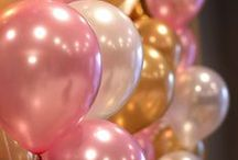 ❥ Pink & Gold Party / Pink & Gold Party Ideas