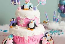 ❥ Winter Party / Winter Themed Party Ideas