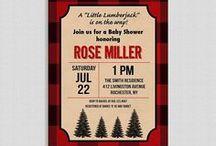 ❥ Lumberjack Party / Lumberjack Themed Party Ideas