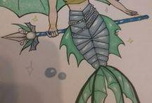Mes dessins / Voici quelque uns de mes dessins !