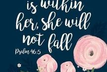❥ Christian / Christian quotes and scripture.