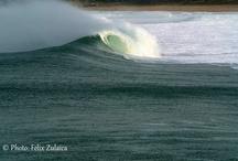 Surf / Olas y surfistas, playas y rocas, naturaleza, viento y mareas.