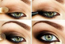 How to ... Eyes & Brows Make up / How to create different make up looks #makeup #howtomakeup #makeuplooks #eyelooks #howtoeyemakeup #brows #guide #stepbystep #fillinbrows #eyebrows #howto #eyeliner #catseye #smokeyeye  / by Tease Flutter Pout
