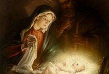 Familia de Nazareth / Imágenes de Jesús, María y José. Navidad. Nativity. Christmas