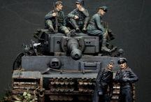 WW II dioramas & vignette