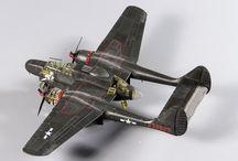USAF WW II scale models